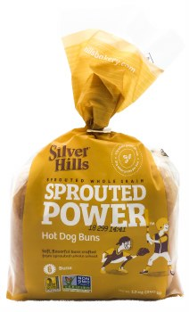 Sprouted Hot Dog Buns 6pk