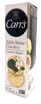 Black Pepper Water Crackers 4.25oz