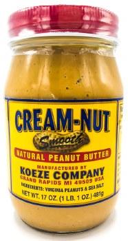 Creamy Peanut Butter 17oz