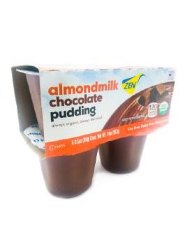 Chocolate Almond Pudding 4pk