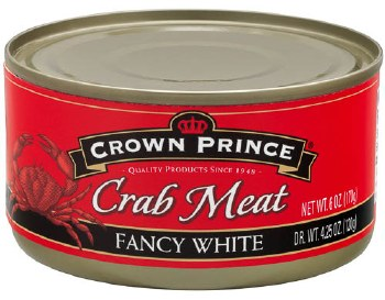 Fancy White Crab Meat 6oz