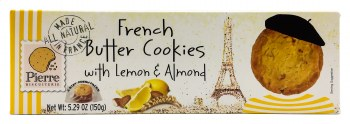 French Lemon Butter Cookies