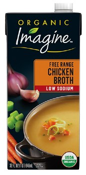 Chicken Stock Low Salt 32oz