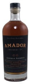 Double Barrel Bourbon Whiskey 750ml