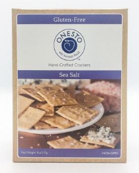 Sea Salt Crackers 4oz