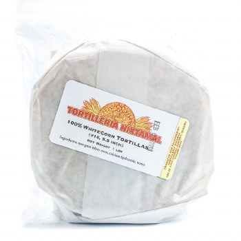 White Corn Tortillas 1lb