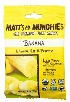 Banana Fruit Snacks 1oz