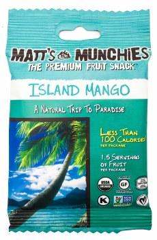 Island Mango Fruit Snacks 1oz