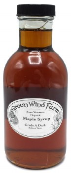 Maple Syrup Grade A Dark 12oz