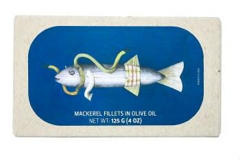 Mackerel Fillets in Olive Oil 4oz