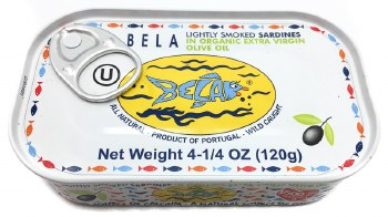 Sardines in Olive Oil 4.25oz