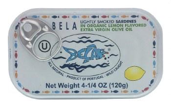 Sardines in Lemon Sauce 4.25oz