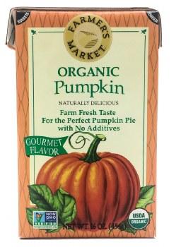 Organic Pumpkin Puree 15oz