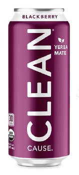 Sparkling Blackberry Yerba Mate 16oz