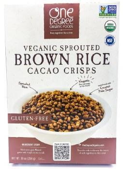 Brown Rice Cacao Crisps 8oz