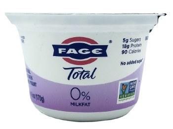 Total 0% Greek Yogurt 6oz