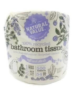 Bathroom Tissue 500 sheets