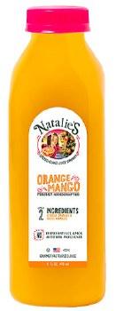 Orange Mango Juice 16oz