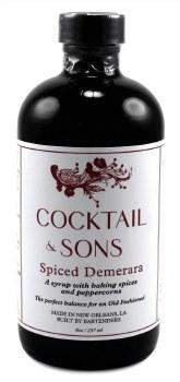 Spiced Demerara Syrup 8oz