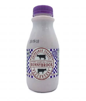 Blackberry Drinkable Yogurt 12