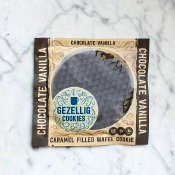 Chocolate Vanilla Stroopwafel 34g