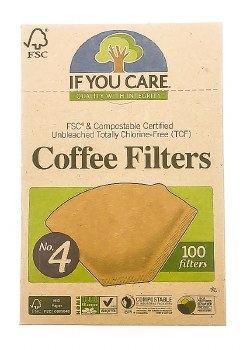 Coffee Filters #4 100 ct