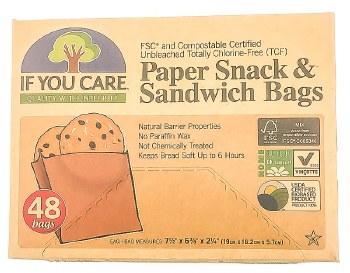 Sandwich & Snack Bags 48ct