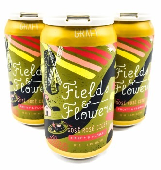 Fields & Flowers 12oz, 4pk