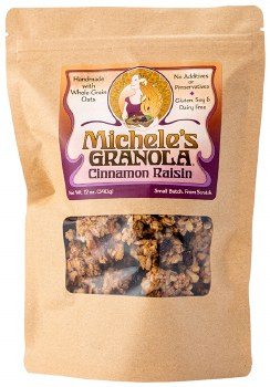 Cinnamon Raisin Granola 12oz