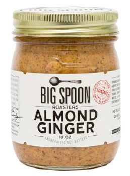 Ginger Almond Butter 10oz