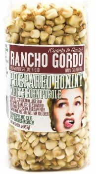 White Corn Posole Hominy 16oz