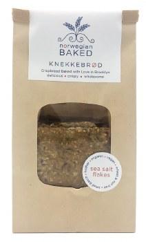 Knekkebrod Crisp Bread with Sea Salt 6oz