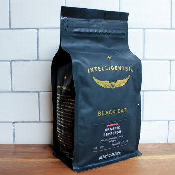 Black Cat Organic Espresso 12oz