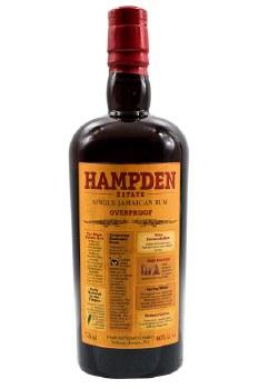 Hampden 60 Single Jamaican Overproof Rum 750ml