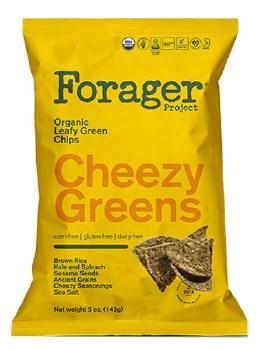 Cheesy Greens Veg Chips 5oz