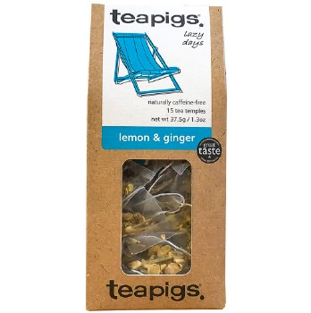 Lemon & Ginger Tea 15pk