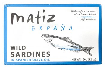 Sardines in Olive Oil 4.2oz