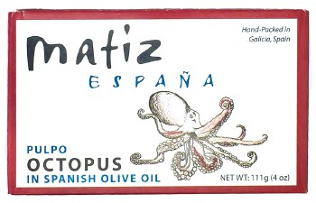 Pulpo Octopus in Olive Oil 4.2oz