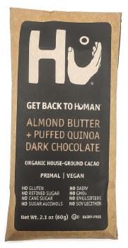 Almond + Quinoa 72% Bar 2.1oz