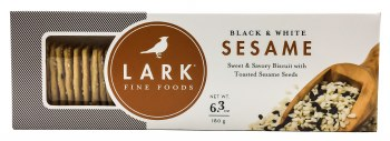 Black & White Sesame Crackers