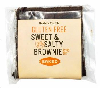 Sweet & Salty Gluten Free Brownie 3.9oz