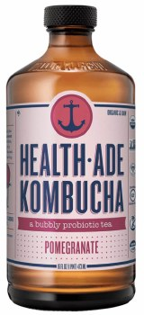 Pomegranate Kombucha 16oz