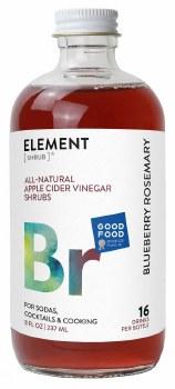 Blueberry Rosemary Shrub 8oz