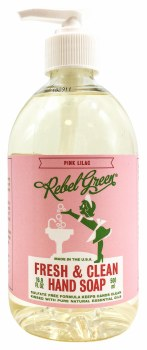 Pink Lilac Hand Soap 16.9oz