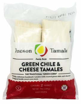 Green Chile Tamales 2pk