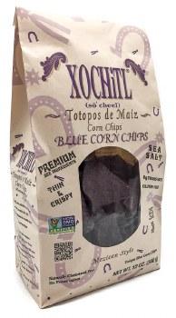 Organic Blue Tortilla Chips 12oz