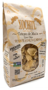 Organic White Tortilla Chips 12oz