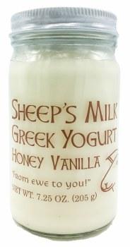 Honey Vanilla Sheep Yogurt