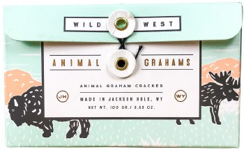Wild West Animal Graham Crackers 100g