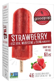 Strawberry Freezer Pops 4pk